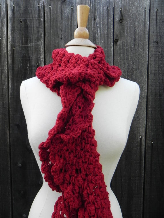 Crochet Pattern Infinity Scarf Circle Scarf Cowl by ...