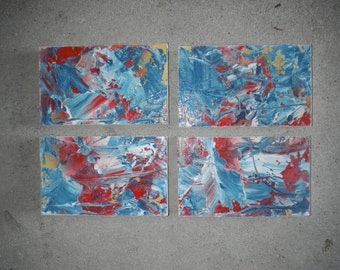 ORIGINAL ABSTRACT ART - Acrylic Painting- Wall Art