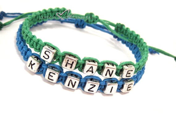 Matching Couples Bracelets, Couple Bracelets, Custom Bracelet, Personalized Name Bracelet, Couples Gift, Personalized Jewelry boyfriend gift