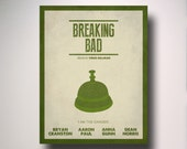 Breaking Bad / Poster / Print / Art / Bell / Walter White / Hector