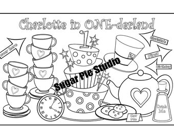 spa party coloring pages - photo#32