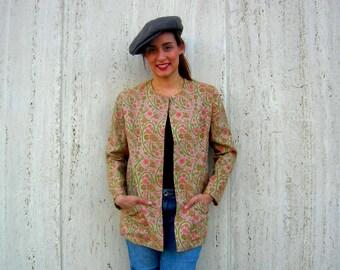 Vintage blazer jacket outerwear