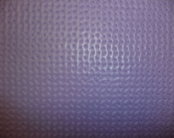 "Leather SALE 8""x10"" WAFFLE Weave Pattern Purple Lilac Cowhide 2.5 oz / 1 mm PeggySueAlso™ E3000"