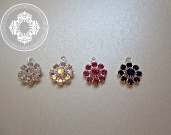 With Purchase from Jewles Designs only !  one Swarovski Crystal Flower
