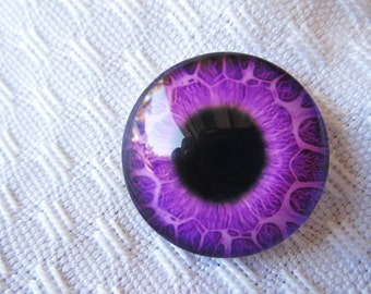 Glass eyes 25mm pendant jewelry supplies