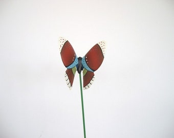 Buttrfly, Ceramic butterfly, plant decoration, flower pot decoration