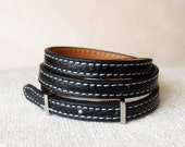 Jewelry,Wrap,Personalized,Charm,Leather,Bracelets,handmade,unique,colorful,popular,giftchoice,black,brown,blue,green,red,orangered,white.L04
