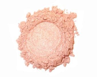 Mineral Eye Shadow HALO - 3 Grams or 5 Grams- Peachy Pink Metallic Sparkle