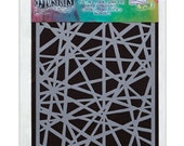 Dyan Reaveley Stencil SHATTERED Dylusions 5 x 8