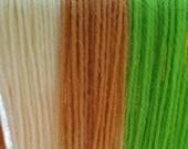 Coconut Lime - Striping Sock Yarn