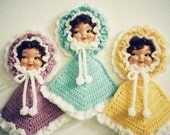 PDF PATTERN - Crochet Dolly Doll Potholder Pattern by Anne Oakleaf of JAO Enterprises Inc - Excellent for Bazaars