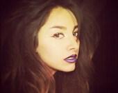 Luna Daga  - an enchanting darkly hued lip balm in blackest violet