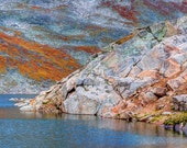 """Fall Colors, Mount Evans, Rocky Mountains, Colorado - """"Summit Lake"""""""
