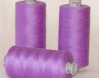 GUTERMANN Mara 100 Polyester Thread ONE (1) Spool 1,094yd  VIOLET 391