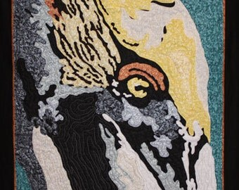 BROWN PELICAN APPLIQUE Quilt Pattern by Rob Appell