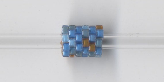 Woven Glass Bead Bead 6mm/o-2mm/i Ocean ... ... ... ... ... ... ... ... ... ... ... ... ... ... ... ... 06x08 ... ... ... ... (11-7-295)*
