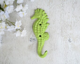 Cast iron Sea Horse Hook,Coat hook, Key Hook,Towel Hook,