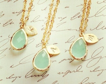 Initial Necklace Personalized Jewelry Personalized Necklace Pendant Bridesmaid Gift Jewelry Necklace Wedding Party Limonbijoux Gift
