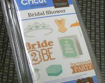 Cricut Cartridge Bridal Shower NIP Reduced from 29.99
