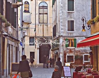 Italy Wall Art, Streets of Italy, Fashion Photography,Print,Travel,Italian,Tuscan,Wine Theme ,Dorm,Girl,Nursery,Playroom,Venice,Preppy Art