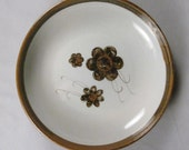 Ken Edwards for El Palomar, rare Veracruz pattern, Paella dish, wide shallow bowl, 1960s