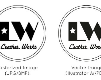 Convert to Vector file for your logo or design