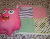 PATTERN - Baby Girl Crochet Blanket