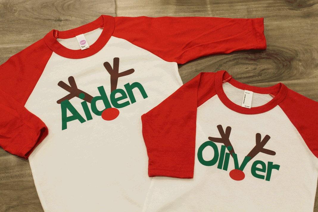 Christmas Tees For Boys - Toddler Boys Christmas shirt Reindeer ...
