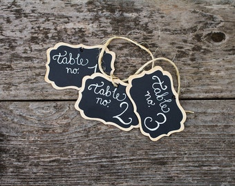 12 Fancy Wood Chalkboard Tags with Chalk Labels, Basket Labels, Chalkboard Tags, Wedding Chalkboards, Rustic Wedding, Small Chalkboard Signs