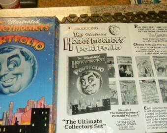 Comic Books The Illustrated Honeymooners Portfolio - 12 Volumes