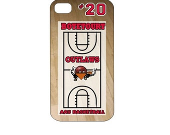 iPhone Cover/Case - Featuring Basketball Background