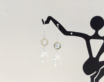 Swarovski Crystal Dangle Earrings - FREE SHIPPING