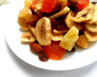 Sweet Tropical Fruit and Nut Mix Baking or Snacking Delicious Healthy Combo