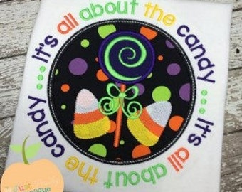 Candy Circle Machine Embroidery Applique Design Buy 2 for 4! Use Coupon Code 50OFF
