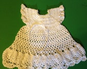 Christening Gown With Headband