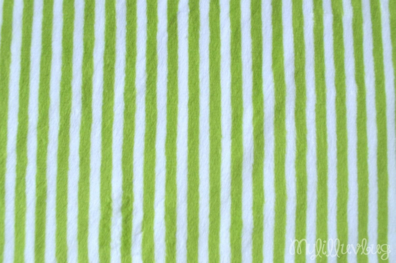how to cut minky fabric straight