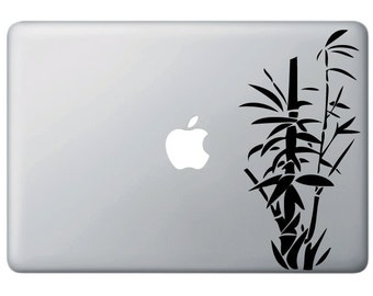 """MB - Bamboo -  Vinyl Decal for Macbooks or Laptops  (4.5""""w x 8.75""""h) (Color Choices)"""