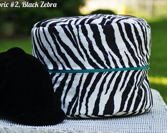 MADE TO ORDER Animal Print Helmet Bag Cheetah, Zebra, Leopard, Giraffe