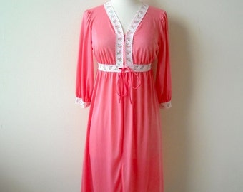 Vintage Cheeky Rose Nightgown Dress