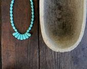 Boho Turquoise Necklace Wedding Sundance style jewelry