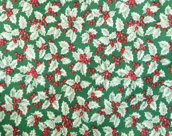 VIP Cranston Printworks Cotton Holly Print Fabric