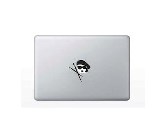 Artist Lady Macbook Decal Lap top Sticker M105