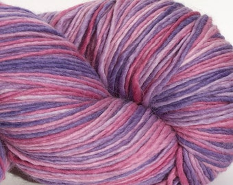 Alpaca/Merino/Silk DK weight yarn, 300 yrds. 100 g, Single Ply, Jumbo Skein