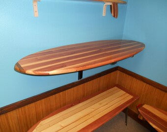 Surfboard Pub Table