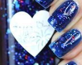 Happy Blue Year Jelly Nail Polish 15ml (.5oz)