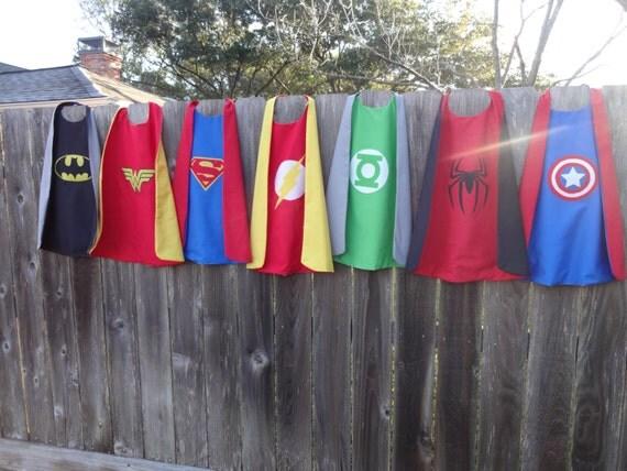 Super Hero Cape - Handmade and Reversible