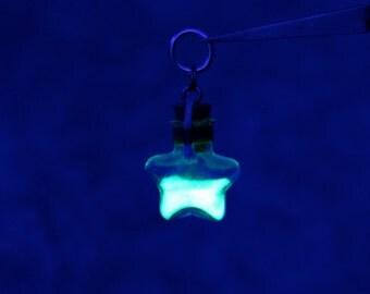 Custom Star Bottle Firefly Lantern Necklace