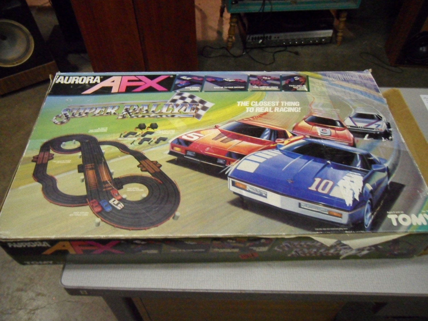 Aurora Ho Race Car Sets For Sale