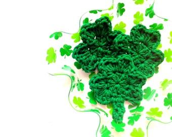 PATTERN: the simple shamrock, Crochet St. Patrick's Day Shamrock Pattern