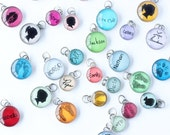 Your Child's Silhouette Charm